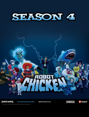 robot chicken season 4 copy cock for the first time on
